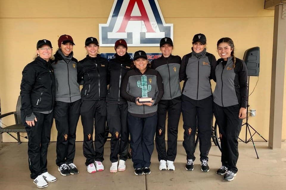 Olivia Mehaffey & the Sun Devil Team