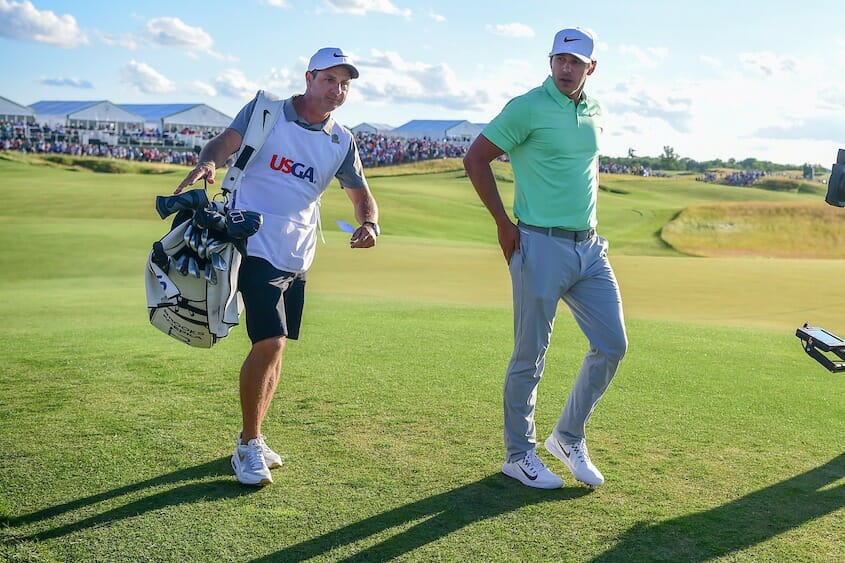 f6c7059944b18 Portrush caddie Ricky Elliott s first reaction was to buy a 12-pack of  Heineken in grabbing a  US 1 4m victory windfall in helping steer Brooks  Koepka to ...