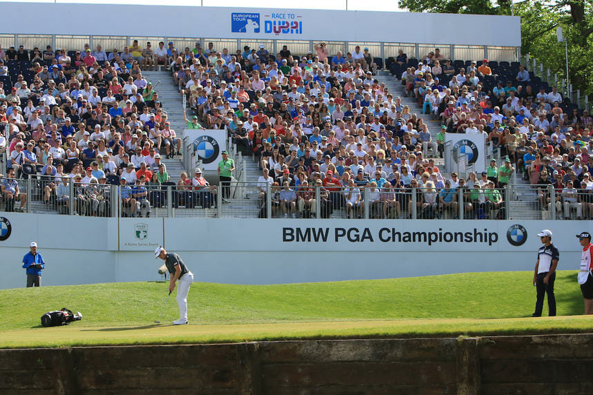 Andrew Dodt (AUS) on the 18th green - Photo Thos Caffrey Golffile