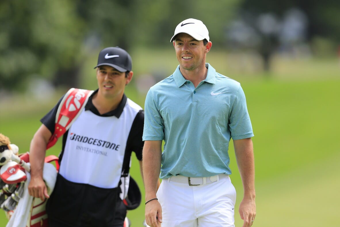 McIlroy confirms Harry Diamond as full-time caddy for 2018