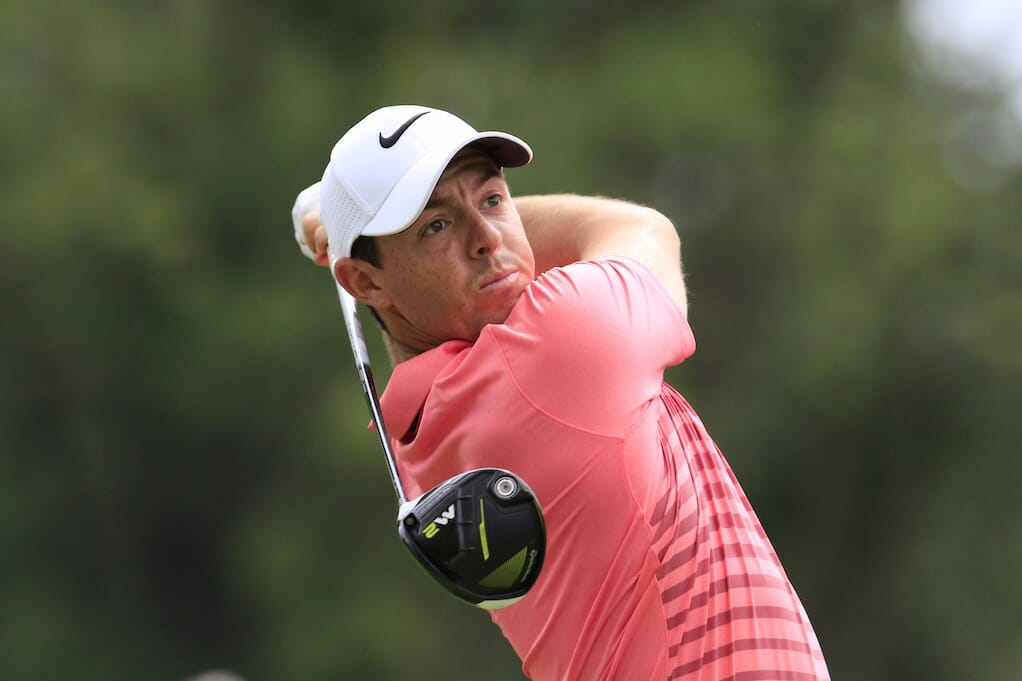 On a crowded leaderboard at the WGC-Bridgestone Invitational Rory McIlroy and Harry Diamond are well placed for a Sunday Charge.