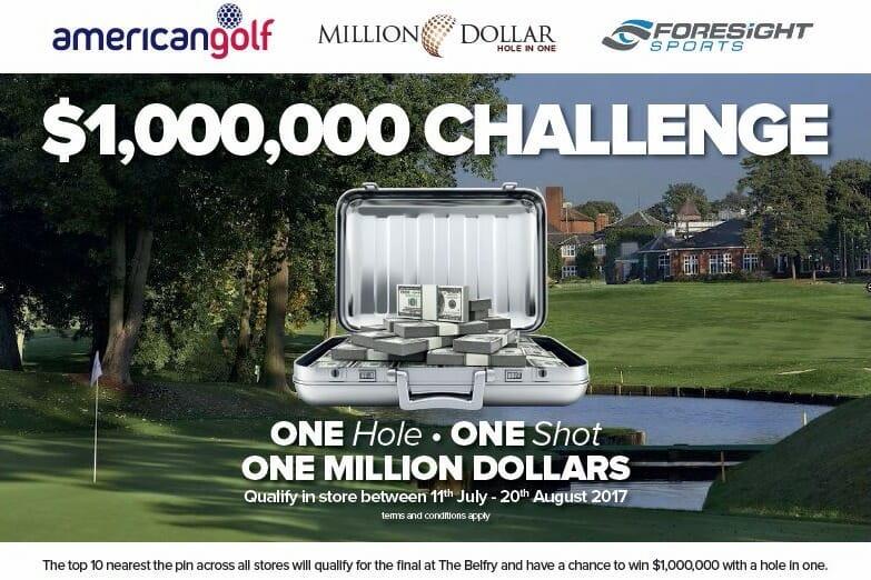 Win One Million Dollars with American Golf | Irish Golfer News