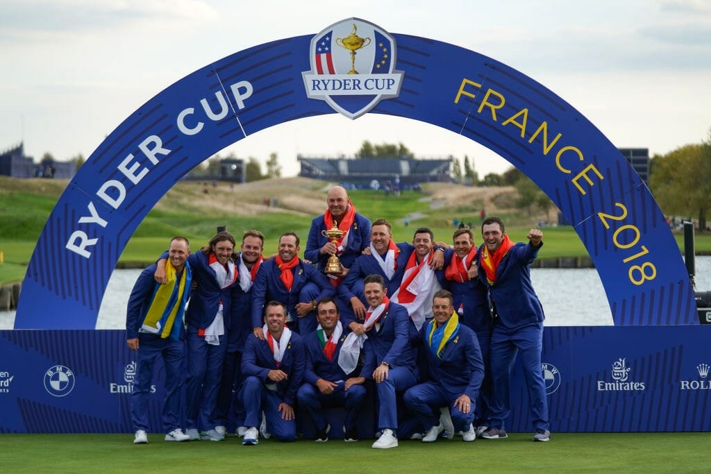 6b0d60afcfd What a Sunday that was at Le Golf National! All the talk before the event  was of the American Team and how strong they were but the European Team was  quite ...