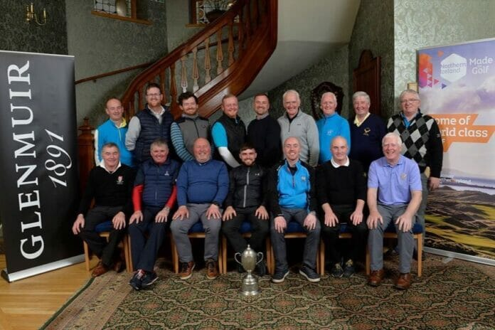 The King's Cup team that will travel to Bay Hill to represent Ireland