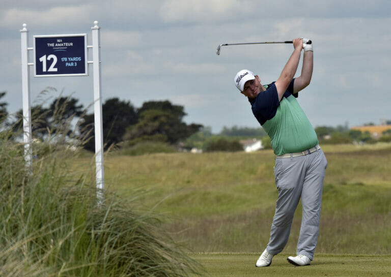 Rafferty best of the Irish as four home players qualify for knock out stages in The Amateur Championship