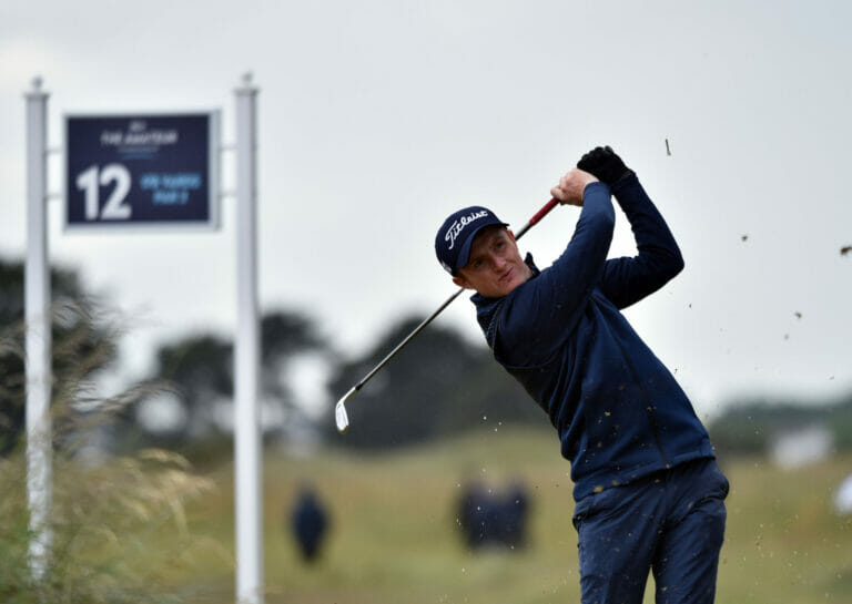 Home heroes Sugrue and Mullarney battle their way through to last eight in The Amateur Championship