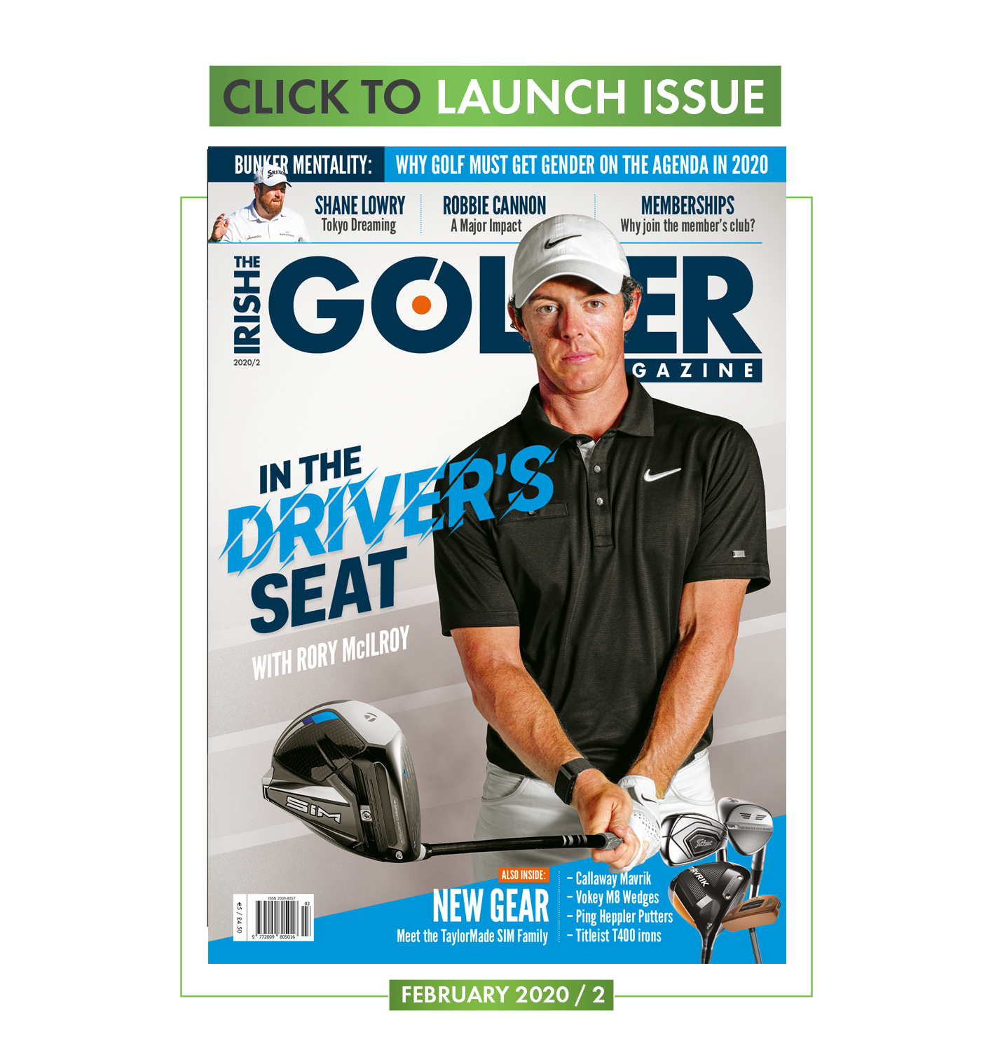 Launch the latest issue of Irish Golfer Magazine
